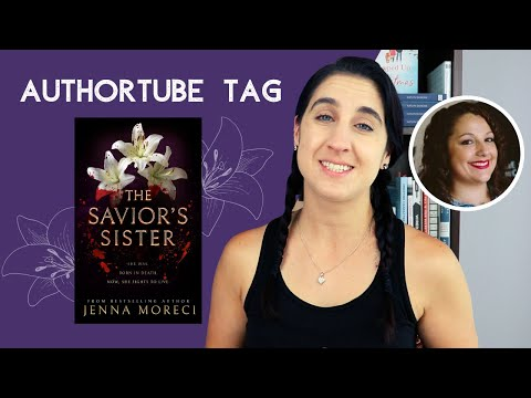The Savior's Sister by Jenna Moreci Authortube Tag | Collaboration with Marisa Mohi [CC]