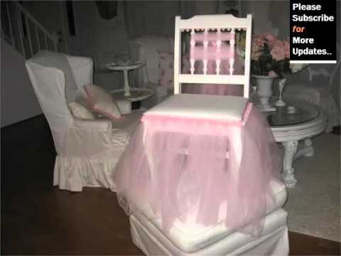 Tulle Chair Covers | Decorative Ideas Of Tute – Picture Set Romance