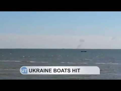 Mariupol Under Siege: Ukrainian guard boats attacked in the Sea of Azov