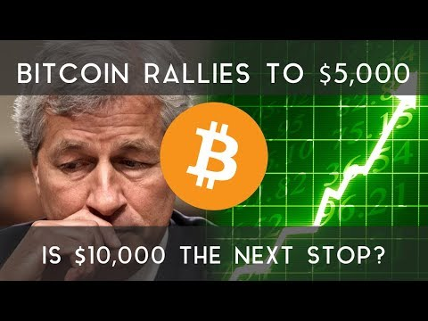 BITCOIN RALLIES TO $5,000 | Could $10,000 be the next stop?