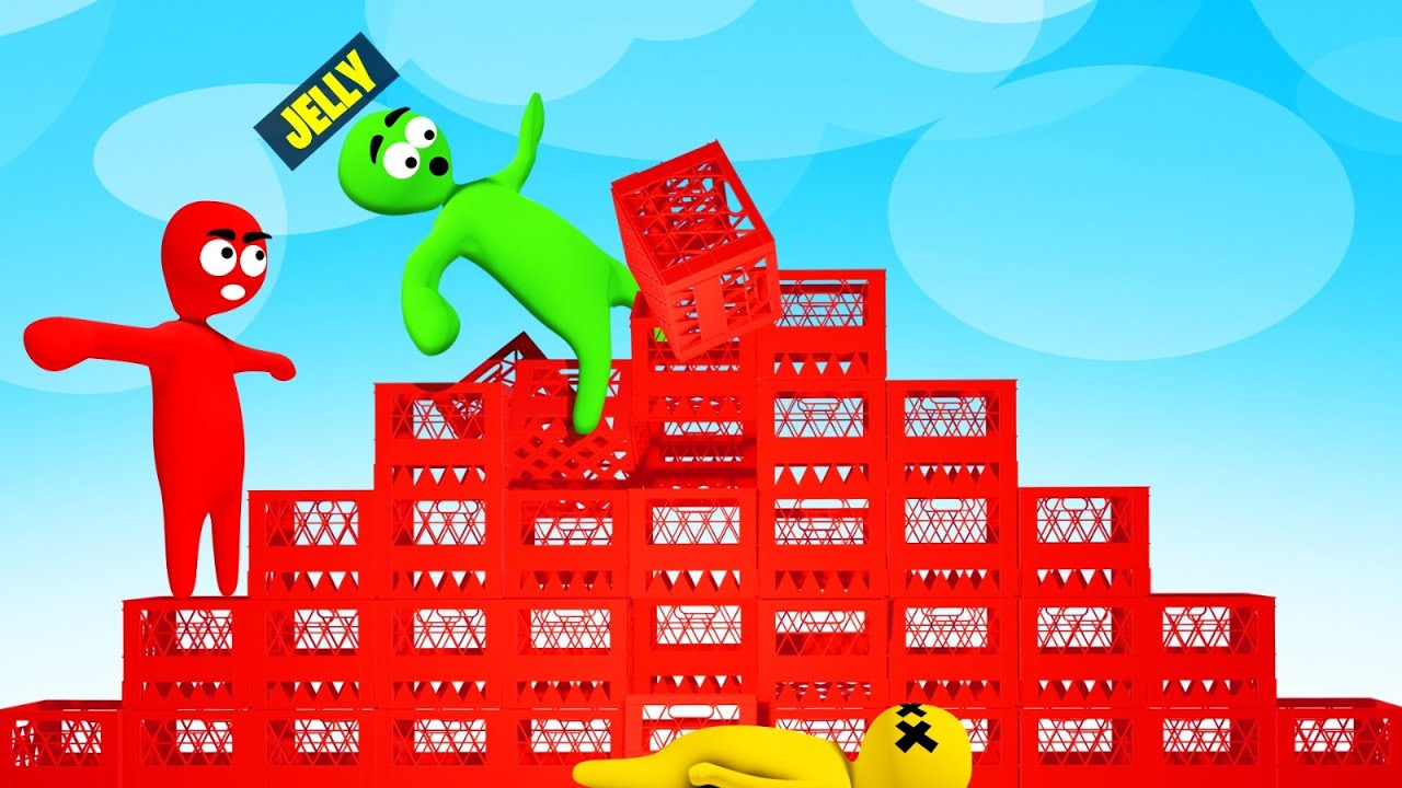 Download We Tried The Crate Challenge In A Video Game…