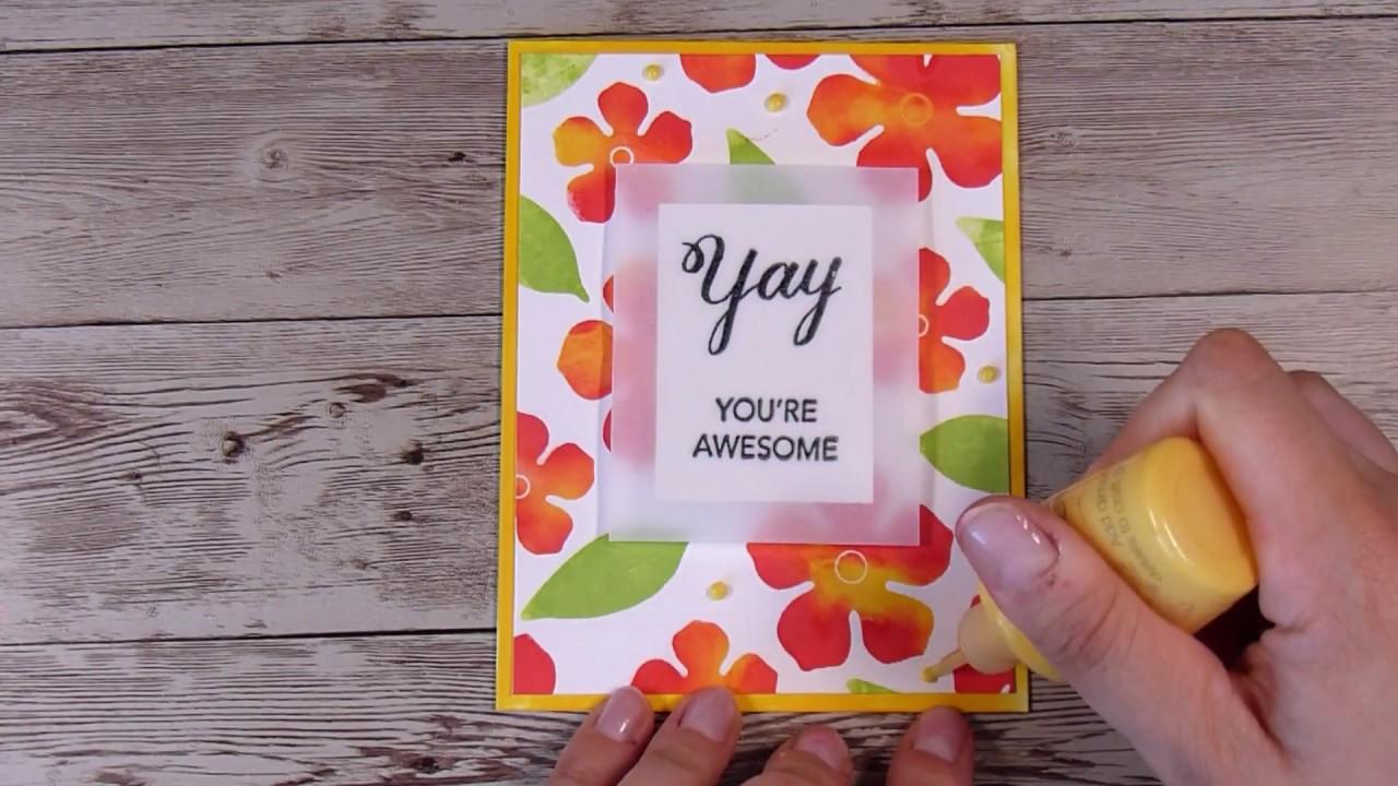 DIY Ink Pads AND DIY Stamps! Cardmaking