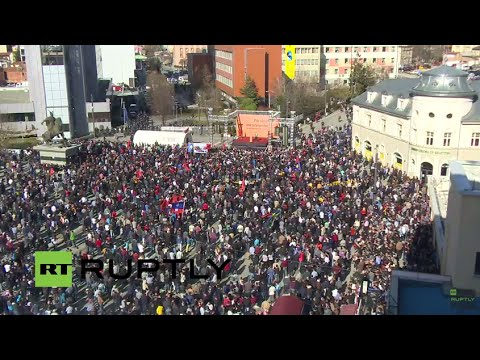 LIVE: Opposition parties to stage anti-government rally in Pristina