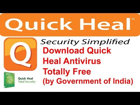 Free Download Quick Heal Antivirus 2018 | Quick Heal Bot Remover Tool | Quick Heal Antivirus