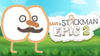 DRAW A STICKMAN: EPIC 2 - Amazing Adventure Begins Dibujar un stickman Eğlenceli çizim oyunu
