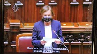 Lamorgese e presidente ordini medici Venezia