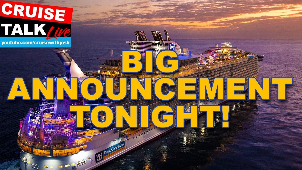 BIG ANNOUNCEMENT FOR 2021!  OASIS OF THE SEAS GROUP CRUISE | CRUISE TALK LIVE JANUARY 13TH, 2021