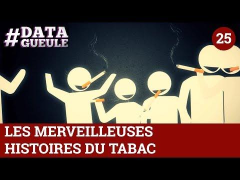 Les merveilleuses histoires du tabac - #DATAGUEULE 25