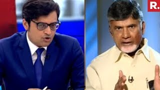 Arnab Goswmai Speaks To Chandrababu Naidu | EXCLUSIVE Interview