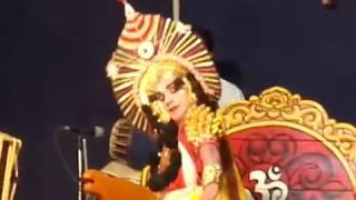 Yakshagana - Abhimanyu - Chandrahas gowda - Kota shivanad with 5 chande