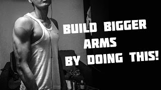 Bodyweight Arm Workout Routine | BUILD BIGGER BICEPS & TRICEPS