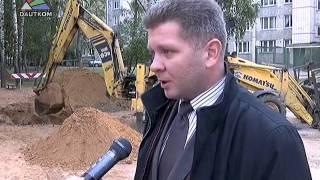 На ул. Шаура ведется строительство ливневой канализации(В самое ближайшее время проблема затопления дворовых территорий на ул. Шаура будет решена. Сегодня здесь..., 2015-10-01T06:33:32.000Z)
