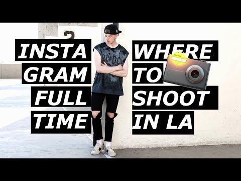 INSTAGRAM IS A FULL TIME JOB | Best Instagram Locations In LA | Blogger Behind The Scenes| Gallucks