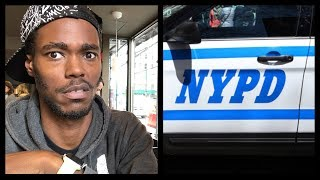 Getting Harassed By The NYPD! I Walked Away From Those Fools