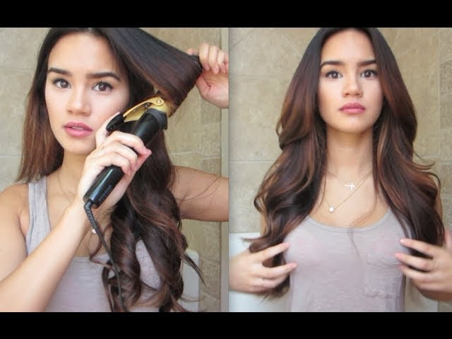 Cute ways to curl your hair with a wand