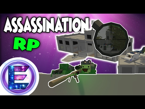 ASSASSINATION RP - Taken a big contract - Unturned Roleplay