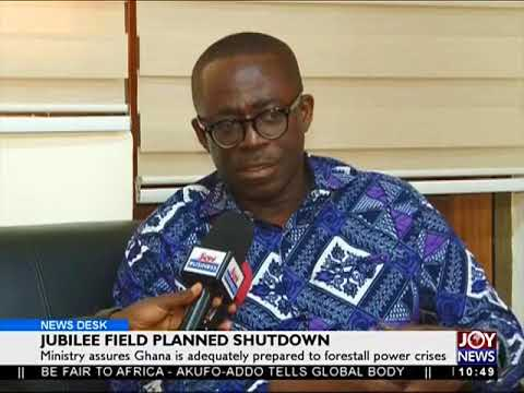 Jubilee Field Planned Shutdown - Business Desk on Joy News (22-9-17)