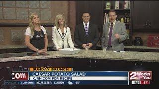 Sunday Brunch:  Julie Yoder's Caesar Potato Salad Part Ii