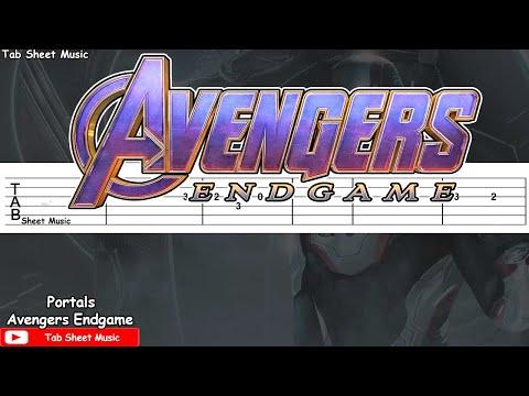 Avengers: Endgame - Portals Guitar Tutorial