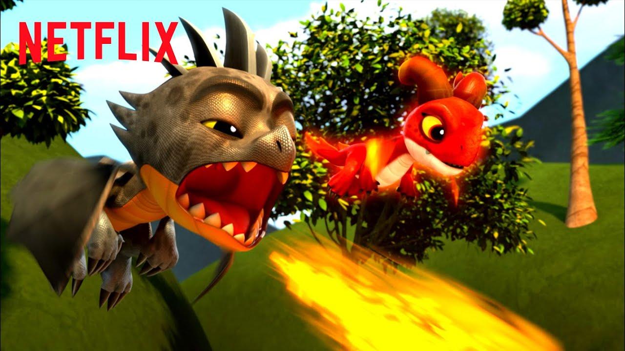Best Dragon Powers 🐉 Dragons Rescue Riders | Netflix Jr