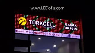 Pixel LED Tabela 30mm - TURKCELL Başak Bilişim İstanbul