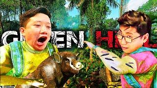 GREEN HELL CO-OP #1: TEAM ĐỤT SINH TỒN GIỮA RỪNG AMAZON, VŨ ĐẠT BỊ ĐỈA BÁM ĐẦY NGƯỜI =))