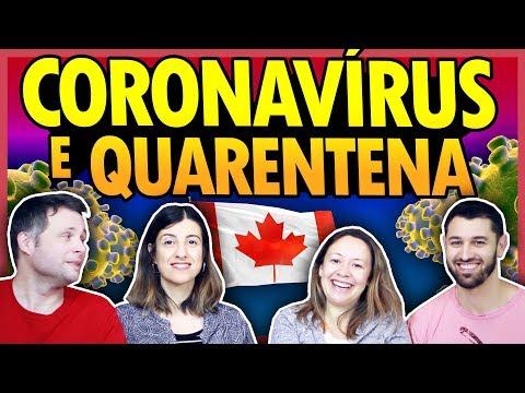 AO VIVO! CORONAVÍRUS E QUARENTENA NO CANADÁ
