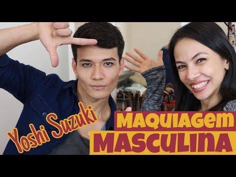 Maquiagem Básica Masculina para Ballet com Yoshi Suzuki. Male Stage Makeup