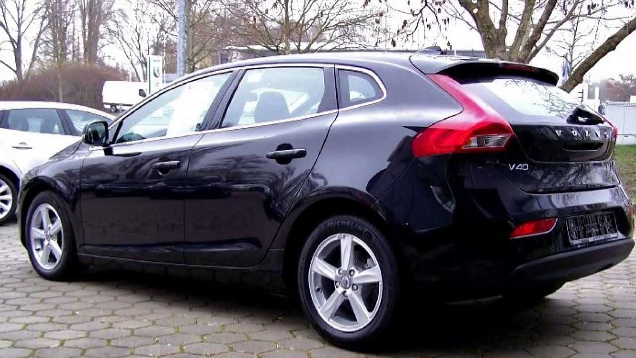 volvo v40 d2 momentum 040982 schwarz metallic autohaus s k hamburg harburg youtube. Black Bedroom Furniture Sets. Home Design Ideas