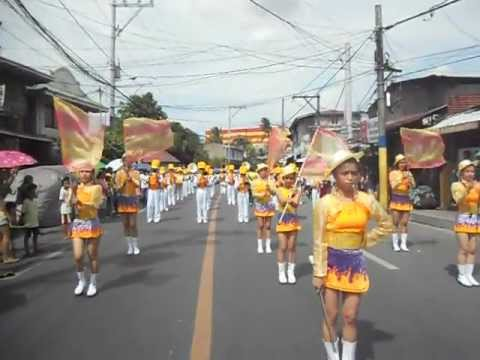 Bacoor Town Fiesta 2012 (Torch Of Fire Marching Band)