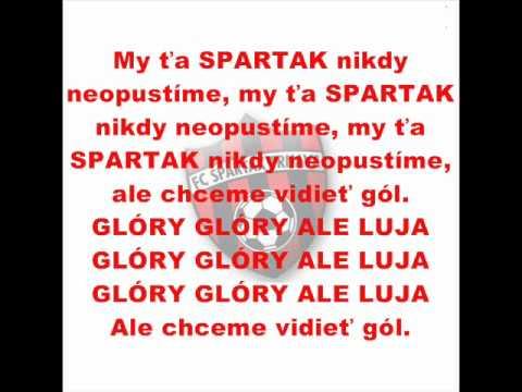 Spartakovská hymna (text)