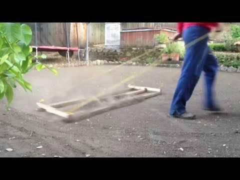 DIY - HOW TO LEVEL YOUR GROUND FOR SEED OR SOD LAWN INSTALLATION