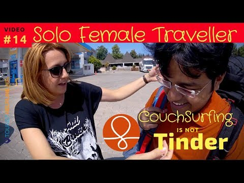 COUCHSURFING FOR GIRLS!! My experience with a Female Couchsurfer in Turkey