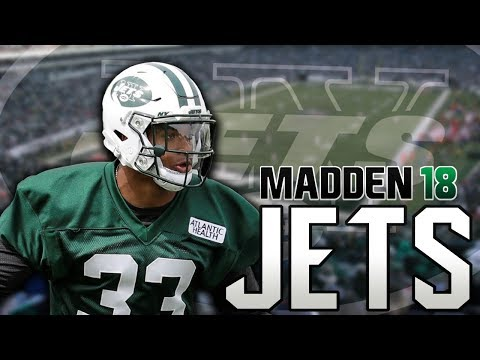Madden 18 Jets Franchise Ep: 28 - New Superstar??