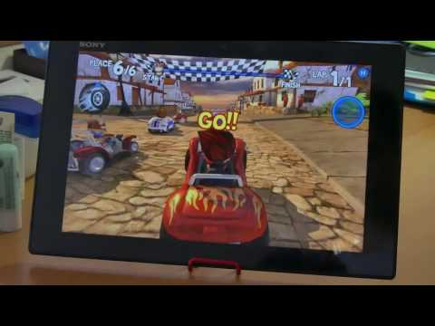 Sony Xperia Tablet Z gaming test in 2017