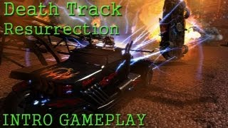 Death Track - Resurrection Intro Gameplay PC HD