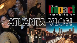 The impact movement 2018 conference COLLEGE VLOG