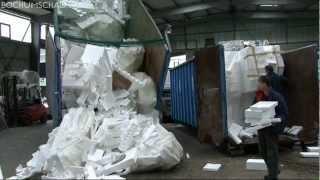 Styropor Entsorgung, Recycling & Verwertung