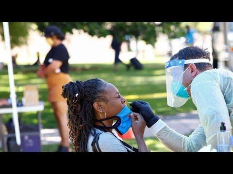 فيروس كورونا: حصيلة يومية قياسية من الإصابات بالولايات المتحدة تجاوزت 67 ألف إصابة  - نشر قبل 6 ساعة