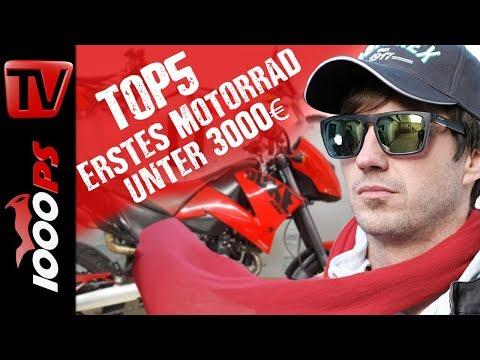 Top 5 - Mein erstes Motorrad unter 3000 Euro