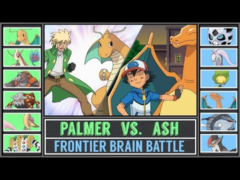Ash vs. Palmer (Pokémon Sun/Moon) - Sinnoh Frontier Brain Battle