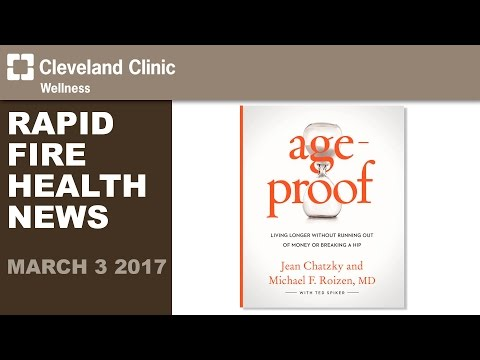 Dr. Michael Roizen's New Age-Proof Book