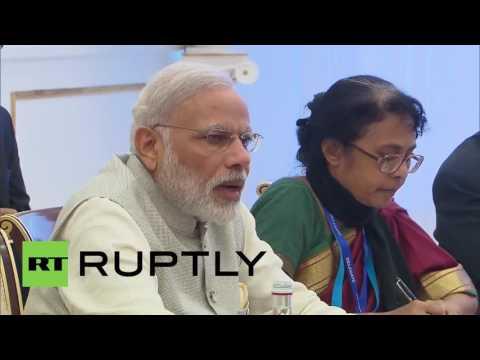 Uzbekistan: Putin and Modi look forward to India's SCO membership