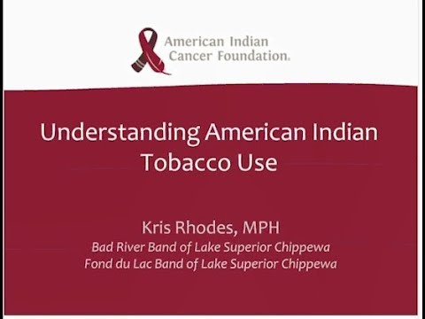 Tobacco is Sacred: Native American Ceremonial vs. Commercial Tobacco Use
