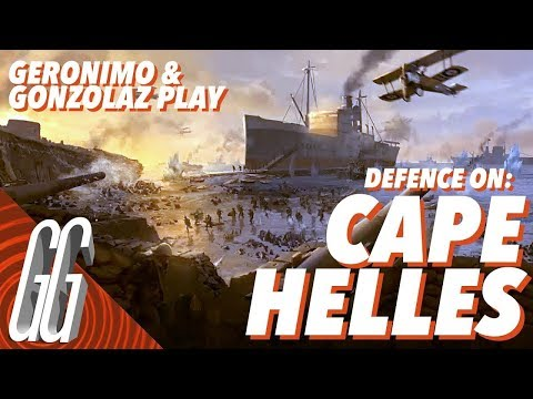 DEFENCE ON : CAPE HELLES - BATTLEFIELD 1