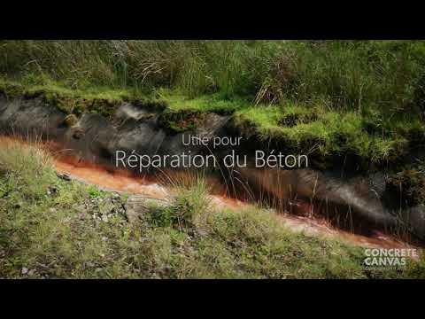 Présentation du GCCM Concrete Canvas : l'alternative au béton plus faible en carbone