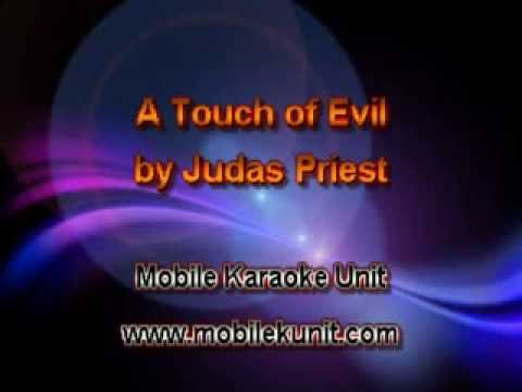 Judas Priest - A Touch of Evil [Karaoke]