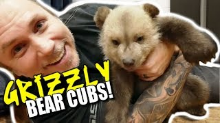 WE MET A GRIZZLY BEAR CUB w/David Dobrik and the Vlog Squad! Brian Barczyk