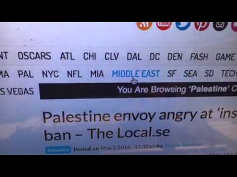 Palestine And Middle East News Aggregator At Zennie62.com