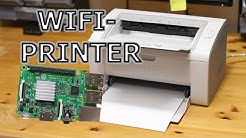 WiFi-Enabled Printer Using Raspberry Pi 3 and USB-printer